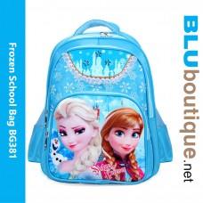 Disney Princess Frozen Children Backpack School Bag
