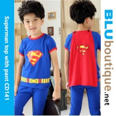Superman shirt with pant