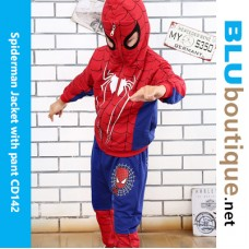 Spiderman Jacket with pant