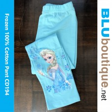Disney Princess Frozen Elsa Anna Long Pant Design 3