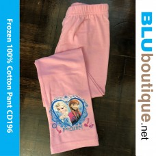 Disney Princess Frozen Elsa Anna Long Pant