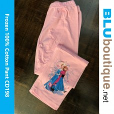 Disney Princess Frozen Elsa Anna Long Pant Design 2