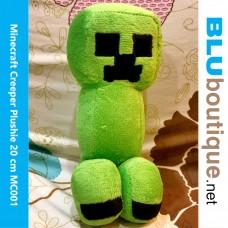 Minecraft Creeper Plushie Keychain