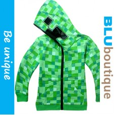 Minecraft Creeper Children Jacket