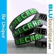 Minecraft Black Wrist Band
