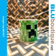 Minecraft Creeper Porcelain Cup