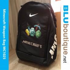 Minecraft Weapon Backpack School Bag