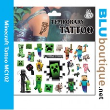 Minecraft Children Tattoo Design 1