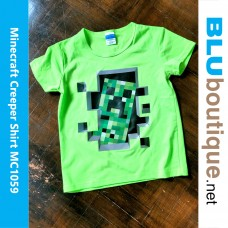 Minecraft Creeper Children T-shirt
