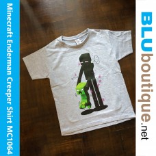 Minecraft Enderman Creeper Children T-shirt