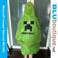 Minecraft Creeper Raincoat