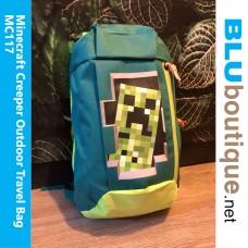 Minecraft Creeper Outdoor travel Bag Green