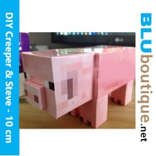Minecraft Pig DIY Papercraft