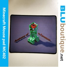 Minecraft Creeper Mouse Pad Premium Quality