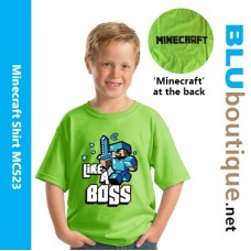 Minecraft Armor Steve Children T-shirt