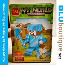 Minecraft Figure Building 201601-21 Armor Steve Sheep
