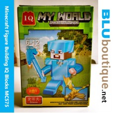 Minecraft Figure Building 201601-21 Armor Steve Dragon