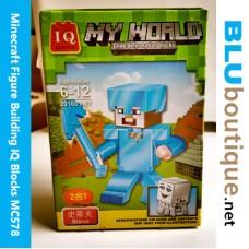 Minecraft Figure Building 201601-21 Armor Steve Ghast