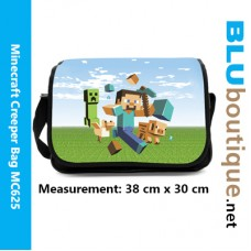 Minecraft Family Shoulder School Bag