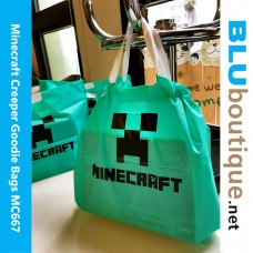 Minecraft Creeper PVC Bag (10 pieces set)