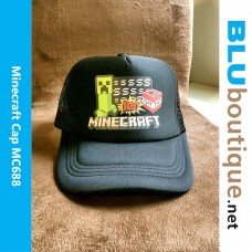 Minecraft Creeper TNT Cap