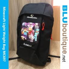 Minecraft Outdoor Bag