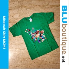 Minecraft Family Children T-shirt
