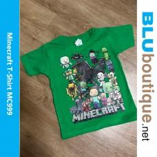 Minecraft Family Children T-shirt
