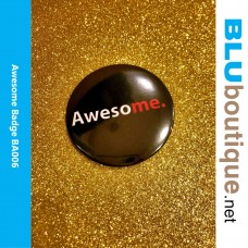 Awesome Award Badge 58 mm