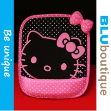 Hello Kitty Mousepad Passion Pink with Black