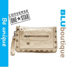 Converse One Star Gold Clutch Bag