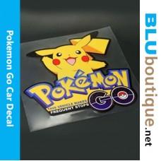 Pikachu Pokemon Go Car Sticker